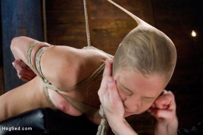 Photo number 8 from Chastity Lynn Run Through Her Paces! shot for Hogtied on Kink.com. Featuring Chastity Lynn in hardcore BDSM & Fetish porn.