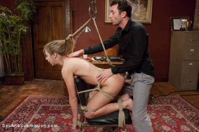 Photo number 9 from The Ravaging of Chastity Lynn shot for Sex And Submission on Kink.com. Featuring James Deen and Chastity Lynn in hardcore BDSM & Fetish porn.