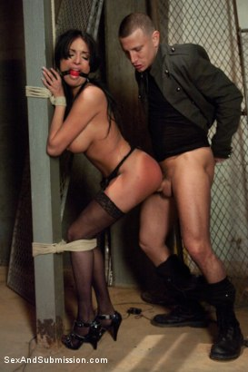 Photo number 6 from The French Prostitute:  Tormented in Bondage and Fucked in the Ass! shot for sexandsubmission on Kink.com. Featuring Mr. Pete and Anissa Kate in hardcore BDSM & Fetish porn.