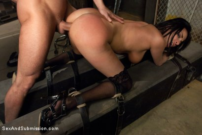 Photo number 9 from The French Prostitute:  Tormented in Bondage and Fucked in the Ass! shot for sexandsubmission on Kink.com. Featuring Mr. Pete and Anissa Kate in hardcore BDSM & Fetish porn.