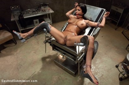 Photo number 11 from The French Prostitute:  Tormented in Bondage and Fucked in the Ass! shot for sexandsubmission on Kink.com. Featuring Mr. Pete and Anissa Kate in hardcore BDSM & Fetish porn.