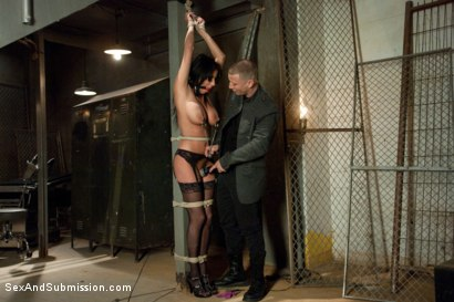 Photo number 4 from The French Prostitute:  Tormented in Bondage and Fucked in the Ass! shot for sexandsubmission on Kink.com. Featuring Mr. Pete and Anissa Kate in hardcore BDSM & Fetish porn.
