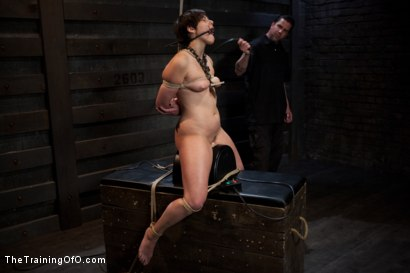 Photo number 11 from Abandoned Slaves<br>Day 2 shot for The Training Of O on Kink.com. Featuring Alice Kingsnorth in hardcore BDSM & Fetish porn.