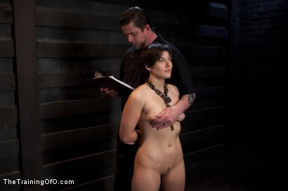 Photo number 5 from Abandoned Slaves<br>Day 2 shot for The Training Of O on Kink.com. Featuring Alice Kingsnorth in hardcore BDSM & Fetish porn.