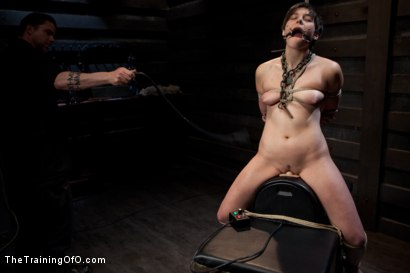 Photo number 7 from Abandoned Slaves<br>Day 2 shot for The Training Of O on Kink.com. Featuring Alice Kingsnorth in hardcore BDSM & Fetish porn.