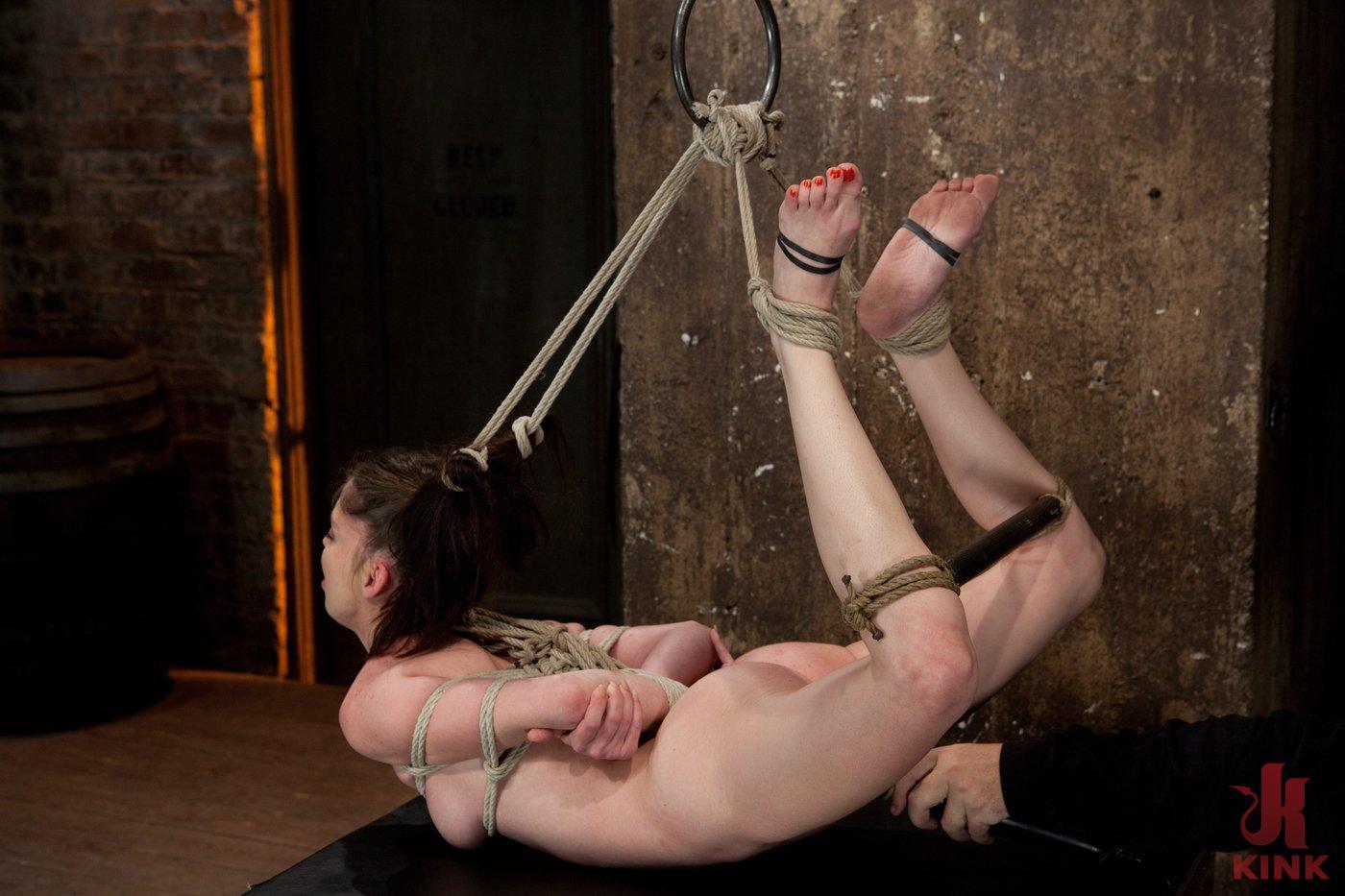 Photo number 16 from Jessi Palmer's Pigtail Hogtie shot for Hogtied on Kink.com. Featuring Jessi Palmer in hardcore BDSM & Fetish porn.