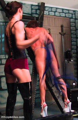 Photo number 8 from Rebecca Lord and Kym Wilde shot for Whipped Ass on Kink.com. Featuring Rebecca Lord and Kym Wilde in hardcore BDSM & Fetish porn.