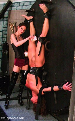 Photo number 11 from Rebecca Lord and Kym Wilde shot for Whipped Ass on Kink.com. Featuring Rebecca Lord and Kym Wilde in hardcore BDSM & Fetish porn.