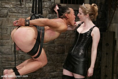 Photo number 3 from Princess Kali and Saba shot for Men In Pain on Kink.com. Featuring Princess Kali and Saba in hardcore BDSM & Fetish porn.