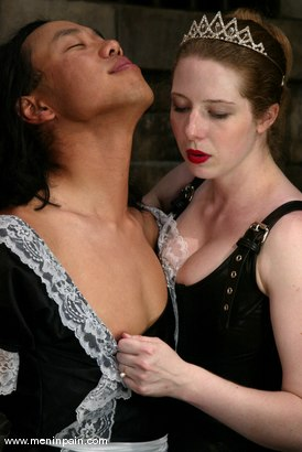 Photo number 7 from Princess Kali and Saba shot for Men In Pain on Kink.com. Featuring Princess Kali and Saba in hardcore BDSM & Fetish porn.