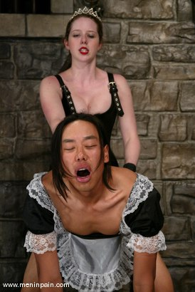 Photo number 14 from Princess Kali and Saba shot for Men In Pain on Kink.com. Featuring Princess Kali and Saba in hardcore BDSM & Fetish porn.