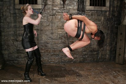 Photo number 2 from Princess Kali and Saba shot for Men In Pain on Kink.com. Featuring Princess Kali and Saba in hardcore BDSM & Fetish porn.