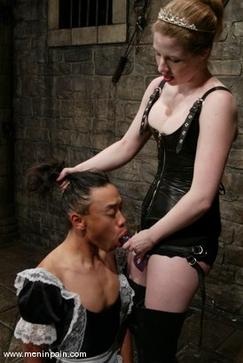 Photo number 9 from Princess Kali and Saba shot for Men In Pain on Kink.com. Featuring Princess Kali and Saba in hardcore BDSM & Fetish porn.