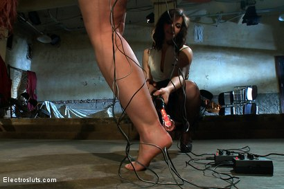 Photo number 5 from Juicy Ass and Wet Cunt Submits to Electrosex shot for Electro Sluts on Kink.com. Featuring Kelly Divine and Bobbi Starr in hardcore BDSM & Fetish porn.