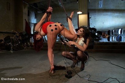 Photo number 7 from Juicy Ass and Wet Cunt Submits to Electrosex shot for Electro Sluts on Kink.com. Featuring Kelly Divine and Bobbi Starr in hardcore BDSM & Fetish porn.