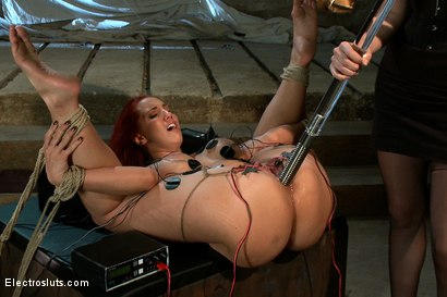 Photo number 2 from An Electro Challenge. shot for Electro Sluts on Kink.com. Featuring Kelly Divine and Bobbi Starr in hardcore BDSM & Fetish porn.