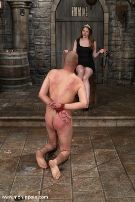 Photo number 10 from Princess Kali and Maximus shot for Men In Pain on Kink.com. Featuring Princess Kali and Maximus in hardcore BDSM & Fetish porn.