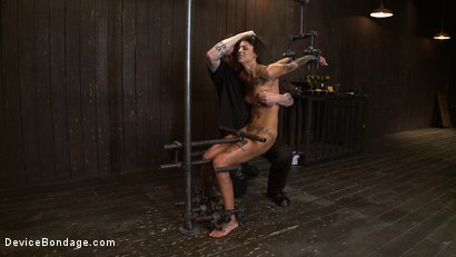 Photo number 2 from Bonnie Rotten - Tamed Whore By JP shot for Device Bondage on Kink.com. Featuring Bonnie Rotten in hardcore BDSM & Fetish porn.