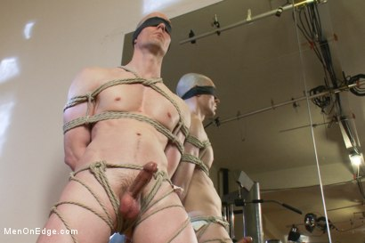 Photo number 4 from Slate - Cocky New Yorker shot for Men On Edge on Kink.com. Featuring Slate in hardcore BDSM & Fetish porn.