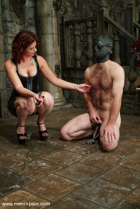 Photo number 9 from Venus May and Jack shot for Men In Pain on Kink.com. Featuring Venus May and Jack in hardcore BDSM & Fetish porn.
