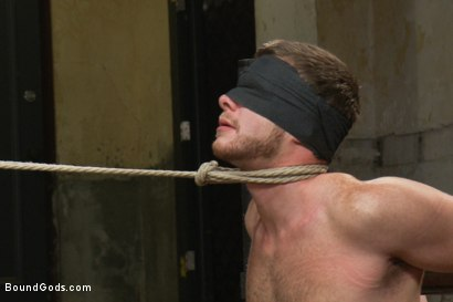 Photo number 13 from Single tail, Electricity and Suspension - Live Shoot shot for Bound Gods on Kink.com. Featuring Josh West, Chad Brock, Brian Bonds and Van Darkholme in hardcore BDSM & Fetish porn.