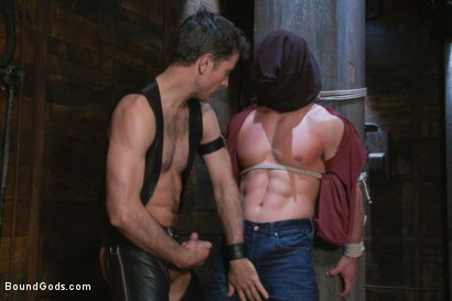 Photo number 1 from Marc Dylan is bound, beaten and fucked for the first time on Bound God shot for Bound Gods on Kink.com. Featuring Marc Dylan and Master Avery in hardcore BDSM & Fetish porn.