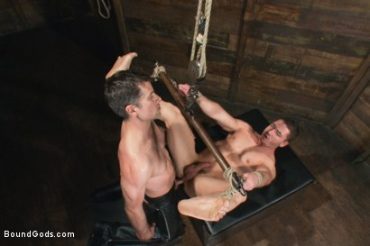 Photo number 11 from Marc Dylan is bound, beaten and fucked for the first time on Bound God shot for Bound Gods on Kink.com. Featuring Marc Dylan and Master Avery in hardcore BDSM & Fetish porn.