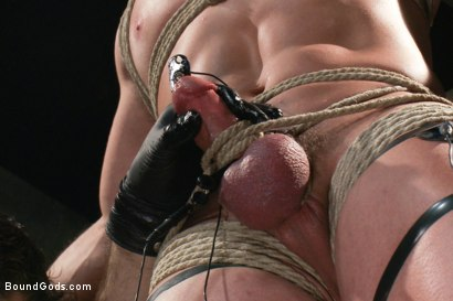 Photo number 9 from Marc Dylan is bound, beaten and fucked for the first time on Bound God shot for Bound Gods on Kink.com. Featuring Marc Dylan and Master Avery in hardcore BDSM & Fetish porn.