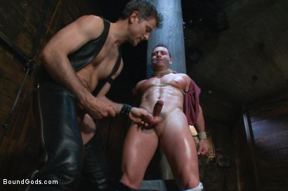Photo number 4 from Marc Dylan is bound, beaten and fucked for the first time on Bound God shot for Bound Gods on Kink.com. Featuring Marc Dylan and Master Avery in hardcore BDSM & Fetish porn.