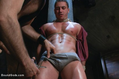Photo number 2 from Marc Dylan is bound, beaten and fucked for the first time on Bound God shot for Bound Gods on Kink.com. Featuring Marc Dylan and Master Avery in hardcore BDSM & Fetish porn.