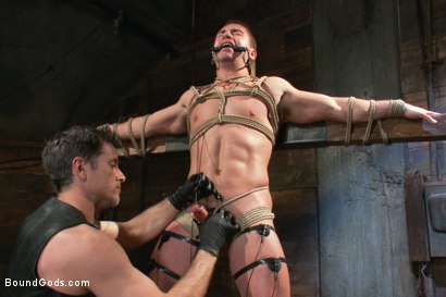 Photo number 8 from Marc Dylan is bound, beaten and fucked for the first time on Bound God shot for Bound Gods on Kink.com. Featuring Marc Dylan and Master Avery in hardcore BDSM & Fetish porn.