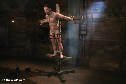 Photo number 6 from Marc Dylan is bound, beaten and fucked for the first time on Bound God shot for Bound Gods on Kink.com. Featuring Marc Dylan and Master Avery in hardcore BDSM & Fetish porn.