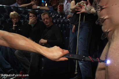 Photo number 7 from Gang fucked on the pool table in public shot for Bound in Public on Kink.com. Featuring Ethan Hudson and Christian Wilde in hardcore BDSM & Fetish porn.