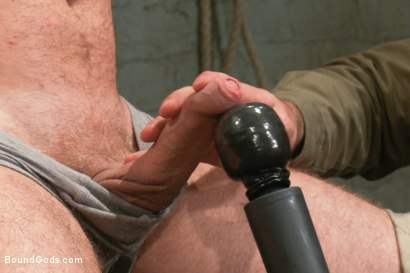 Photo number 6 from Hot New Sub Drake Temple shot for Bound Gods on Kink.com. Featuring Drake Temple and Josh West in hardcore BDSM & Fetish porn.