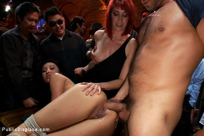 Photo number 5 from 20 yr old Gets Tied up for the First Time Ever! Fisted, Made to Squirt, Pounded in the Ass,  shot for Public Disgrace on Kink.com. Featuring Ramon Nomar, Jayden Lee and Princess Donna Dolore in hardcore BDSM & Fetish porn.