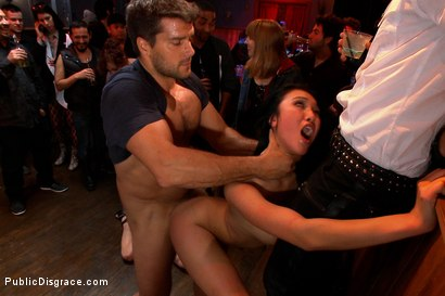 Photo number 11 from 20 yr old Gets Tied up for the First Time Ever! Fisted, Made to Squirt, Pounded in the Ass,  shot for Public Disgrace on Kink.com. Featuring Ramon Nomar, Jayden Lee and Princess Donna Dolore in hardcore BDSM & Fetish porn.