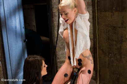 Photo number 4 from Lorelei Lee, a True Electroslut shot for Electro Sluts on Kink.com. Featuring Lorelei Lee and Bobbi Starr in hardcore BDSM & Fetish porn.