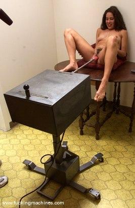 Photo number 7 from Karina Ballerina (Angel) shot for Fucking Machines on Kink.com. Featuring Karina Ballerina (Angel) in hardcore BDSM & Fetish porn.
