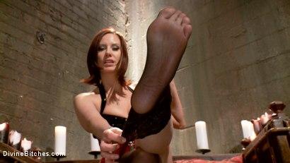 Photo number 7 from Maitresse Madeline's POV foot fetish teaser BONUS! shot for Divine Bitches on Kink.com. Featuring Maitresse Madeline Marlowe in hardcore BDSM & Fetish porn.