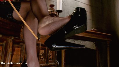 Photo number 10 from Maitresse Madeline's POV foot fetish teaser BONUS! shot for Divine Bitches on Kink.com. Featuring Maitresse Madeline Marlowe in hardcore BDSM & Fetish porn.