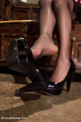 Photo number 5 from Maitresse Madeline's POV foot fetish teaser BONUS! shot for Divine Bitches on Kink.com. Featuring Maitresse Madeline Marlowe in hardcore BDSM & Fetish porn.