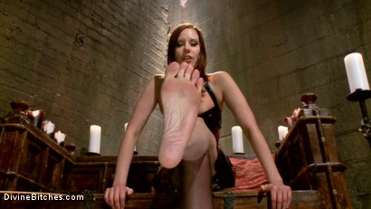 Photo number 12 from Maitresse Madeline's POV foot fetish teaser BONUS! shot for Divine Bitches on Kink.com. Featuring Maitresse Madeline Marlowe in hardcore BDSM & Fetish porn.