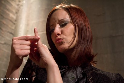 Photo number 10 from Maitresse Madeline's Small Penis Humiliation POV Bonus Teaser shot for Divine Bitches on Kink.com. Featuring Maitresse Madeline Marlowe in hardcore BDSM & Fetish porn.