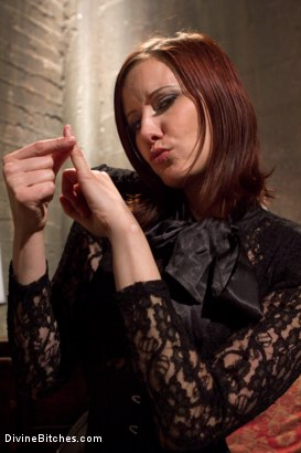 Photo number 15 from Maitresse Madeline's Small Penis Humiliation POV Bonus Teaser shot for Divine Bitches on Kink.com. Featuring Maitresse Madeline Marlowe in hardcore BDSM & Fetish porn.