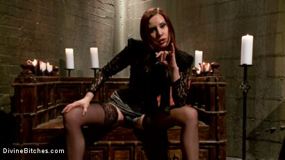 Photo number 6 from Maitresse Madeline's Small Penis Humiliation POV Bonus Teaser shot for Divine Bitches on Kink.com. Featuring Maitresse Madeline Marlowe in hardcore BDSM & Fetish porn.