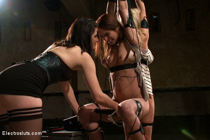 Photo number 11 from Fears of Electrosex shot for Electro Sluts on Kink.com. Featuring Amber Rayne, Kaylee Hilton and Bobbi Starr in hardcore BDSM & Fetish porn.