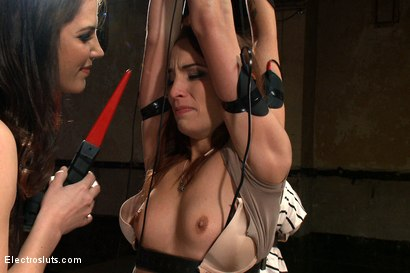 Photo number 10 from Fears of Electrosex shot for Electro Sluts on Kink.com. Featuring Amber Rayne, Kaylee Hilton and Bobbi Starr in hardcore BDSM & Fetish porn.