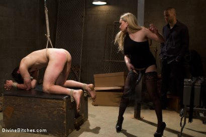 Photo number 8 from Basement Bitch Cuckold shot for Divine Bitches on Kink.com. Featuring Aiden Starr, Wolf Hudson and Tyler Alexander in hardcore BDSM & Fetish porn.