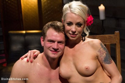 Photo number 14 from The Ultimate Tease, Lorelei Lee shot for Divine Bitches on Kink.com. Featuring Trent Diesel and Lorelei Lee in hardcore BDSM & Fetish porn.