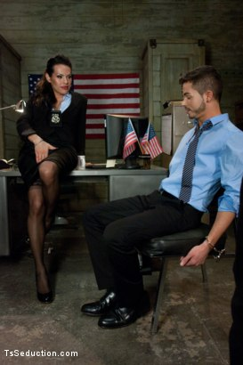 Photo number 1 from Freedom Cock: Kiss Your Citizenship shot for TS Seduction on Kink.com. Featuring TS Foxxy and Turk Mason in hardcore BDSM & Fetish porn.